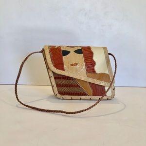 VINTAGE 90's designer Mille Fiori mini bag